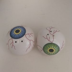 Eyeball Salt and Pepper Shakers